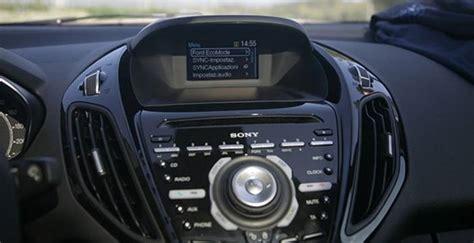 ford sync sulla b max prova su strada dday it