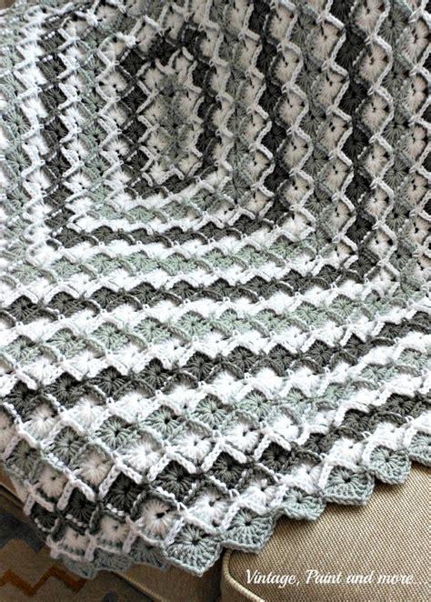 grey diamond pattern grey diamond afghan pattern crocheted afghans diamond