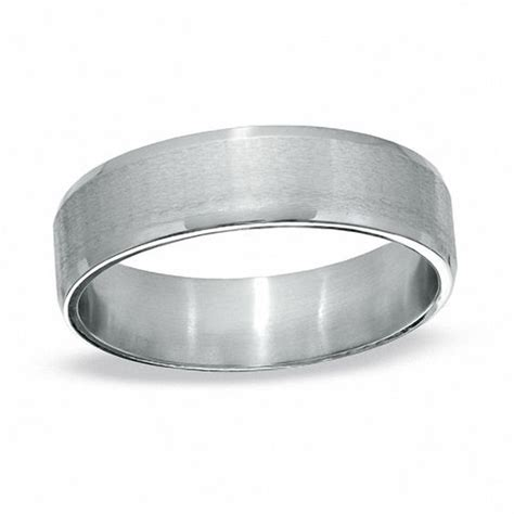 Peoples Jewellers Mens Wedding Bands s stainless steel satin wedding band view all