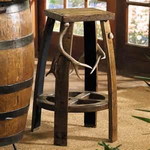 Bar Stool Ideas Rustic Black Forest Backless Hickory Bar Stool Reclaimed
