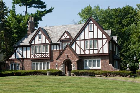 Single Level Homes architectural styles tudor revival windermere