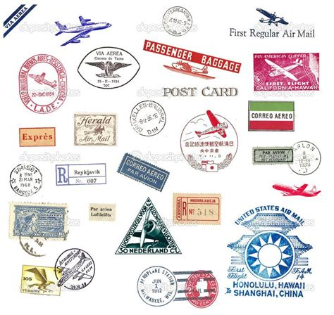 airmail envelope printable 17 best images about airmail envelopes on pinterest