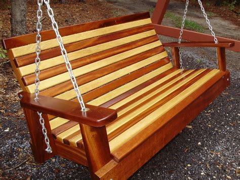 wood swings for sale wooden porch swings 4u0027 rustic cedar log spindle back