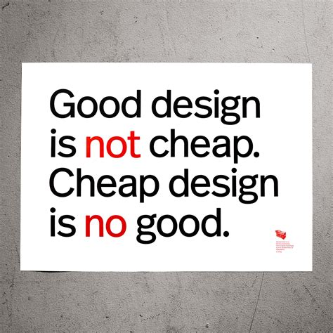 design is not 365typo good design is not cheap cheap design is no good