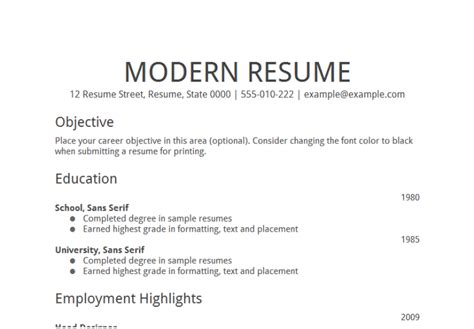 Resume Objective Search Tolls 50 Objectives Statements To Be Customized And Google S Free Resume