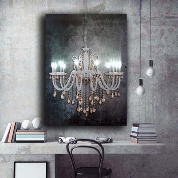 led wall picture luxury crystal chandelier  gemstone