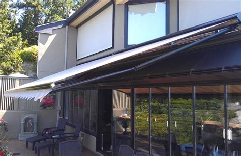retractable awnings toronto adalia x3m overlooking the water rolltec 174 retractable awnings toronto ontario