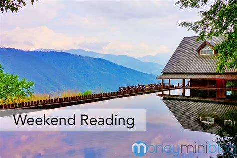 The Weekend Read 2 by Money And Productivity Weekend Reading