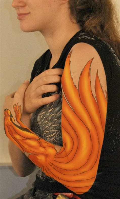kurama tattoo 20 cool tattoos ideas for sheideas