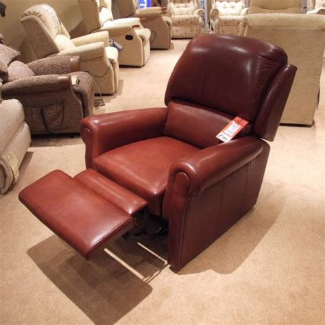 clearance recliner chairs sherborne carnforth leather recliner clearance