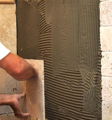 Thinset For Shower Tile by How To Tile A Shower Wall Pro Construction Guide