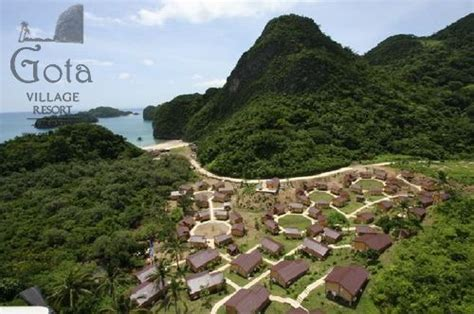 gota resort caramoan map philippine accommodation gota resort caramoan
