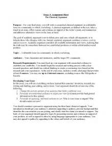 Debate Essay by Unit 3 Classical Argument The Inside Me