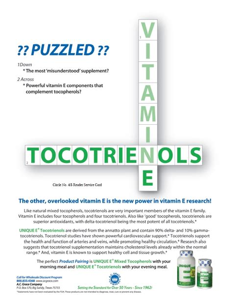tocotrienols emerging science and innovations of vitamin tocotrienols emerging science and innovations of vitamin