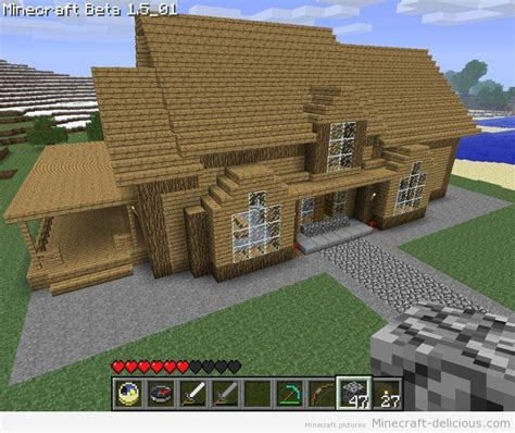 minecraft home decorations minecraft house dormer window side porch and front