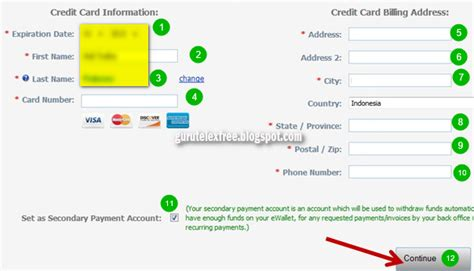 membuat kartu kredit dengan deposit cara deposit telexfree dengan kartu payoneer panduan