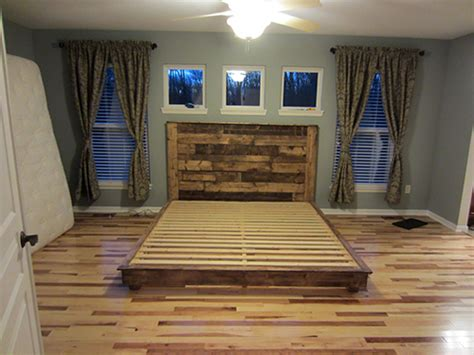 build a king size bed 20 diy bed frames that will give you a comfortable sleep