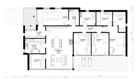 cuanto sale 80metros cuadrados de contrucion casa plano de casa moderna de un piso tres dormitorios y 176