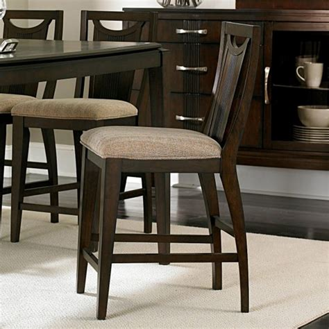 Counter Height Upholstered Chairs by Homelegance Daytona Upholstered Counter Height Chair In