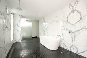 Carrara marble bathroom home design photos marble bathroom throughout