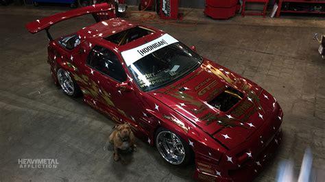 hoonigan rx7 stallion forza motorsport heavy metal affliction hoonigan