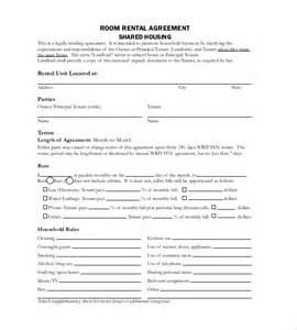 Room Rental Agreement Template Free by Rental Agreement Template 20 Free Word Excel Pdf