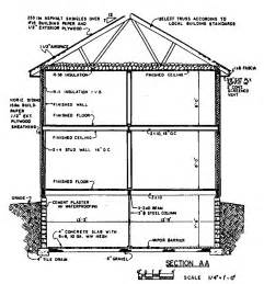 house cross section free colonial house plans colonial house floor plans
