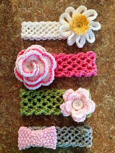 stretchy crochet baby headband pattern | crochet and knit