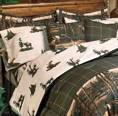 mountain bedding moose mountain sheet sets rustic theme for cabin or lodge
