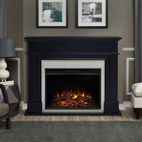 Black Electric Fireplace Mantel Harlan Grand Infrared Electric Fireplace Mantel Package In