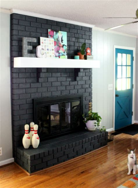 painted fireplace fireplace facelifts with how to links home by hattan