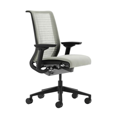Ergonomic Chaise Steelcase Think Chair Coconut