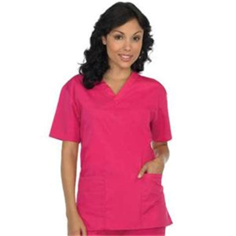 5 pocket v neck top by wink scrubs 6016