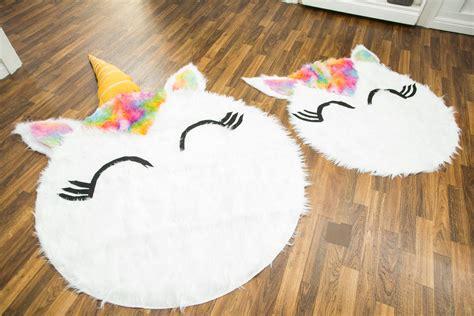unicorn rug how to diy unicorn rug hallmark channel