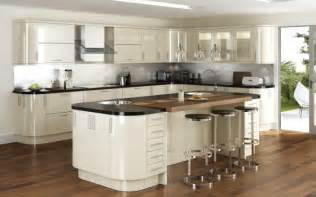 New Kitchen Ideas That Work High Gloss Curved Kitchen Cabinets Bing Images