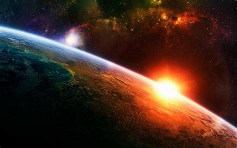 wallpaper earth light planets background earth light space 1432