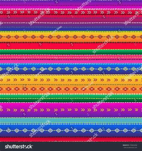 ethnic pattern fabric seamless ethnic mexican fabric pattern colorful stock