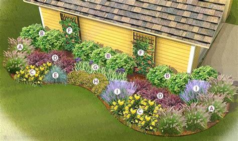 zone 5 perennial garden plans elcorazon club