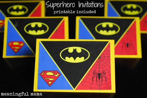 printable birthday invitations superhero pin avengers invitation with photo birthday party custom