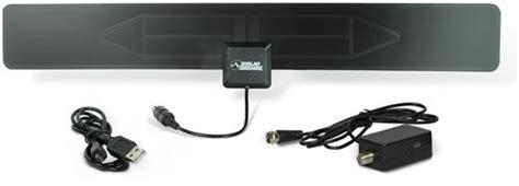 solid signal hd blade slim lified indoor hdtv antenna black hdblade100va from solid signal