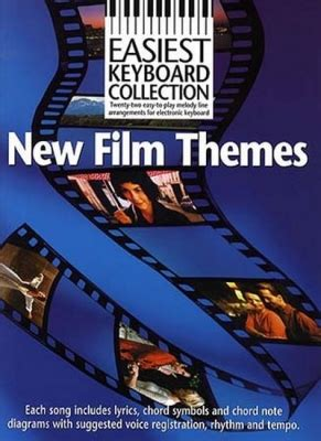 movie themes on keyboard sheet music easiest keyboard collection new film themes