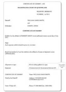 Complaint Letter Template Bailiff Certitificate Of Satisfaction Magistrates Court 28