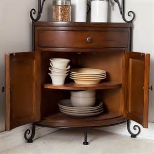 Metal Corner Bakers Rack Wrought Iron Bakers Rack Kitchen Wood Metal Corner Storage