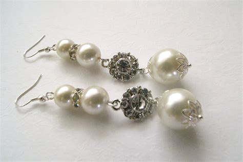 Handmade Jewelry Earrings - handmade bridal and wedding jewelry by vintage touch how