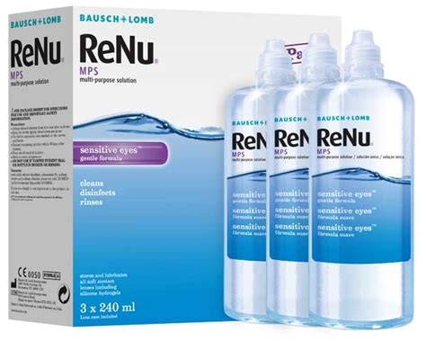 Mps A Multi Purpose Solution 100ml renu mps multi purpose contact lens solution from bausch