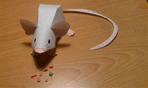 Mouse Paper Craft - mouse papercraft by whiterstar on deviantart