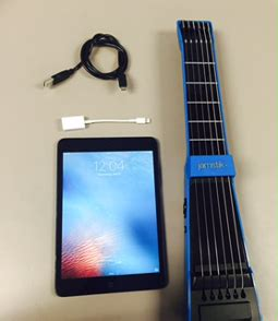 how to connect jamstik+ to iphone/ipad/ipod touch via usb