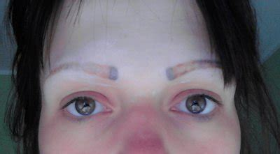 tattoo eyebrows in my area having problems with permanent make up eyebrows laser