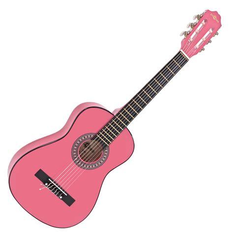 Gitar Strjng New Jrmeg junior classical guitar pink by gear4music nearly new at gear4music