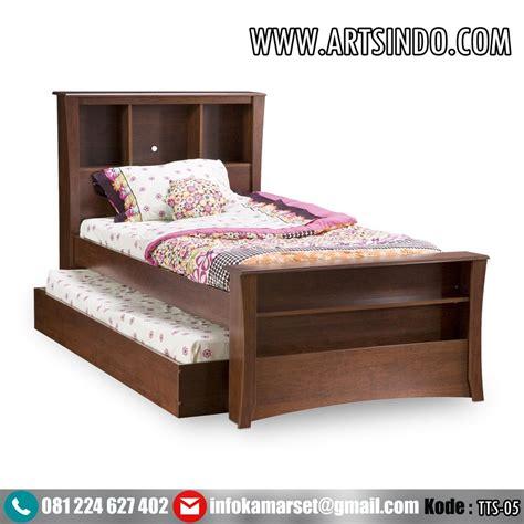 Tempat Tidur Minimalis Bandung jual tempat tidur sorong ranjang anak perempuan laki